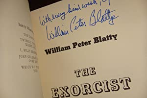 The Exorcist (1st printing - signed): Blatty, William Peter