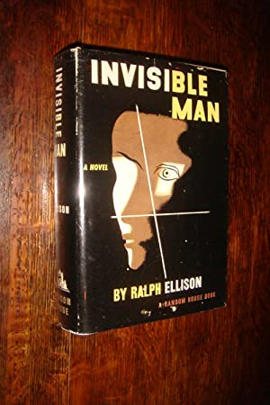 INVISIBLE MAN in original 1st printing DJ: Ellison, Ralph