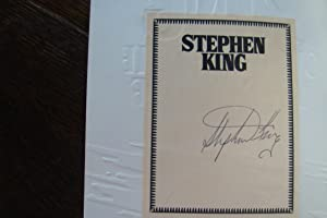 Cycle of the Werewolf (signed Stephen King: King, Stephen