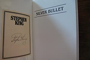 Silver Bullet (signed Stephen King bookplate): King, Stephen
