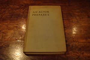 An Actor Prepares (1st printing)