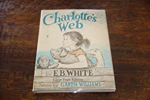 CHARLOTTE'S WEB (1st edition - LARGE TYPE)