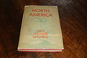 North America Geography Book illustrated by Kurt Wiese; signed by Lucy Sprague Mitchell