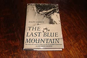 The Last Blue Mountain (1st printing)