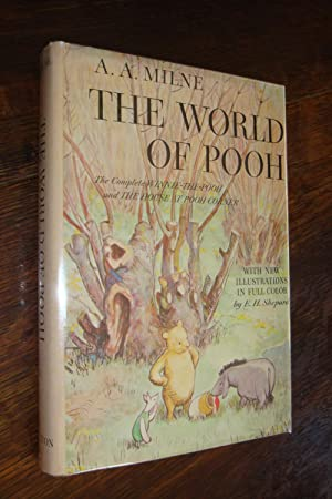Winnie-the-Pooh + House at Pooh Corner compose The World of Pooh (1st printing)