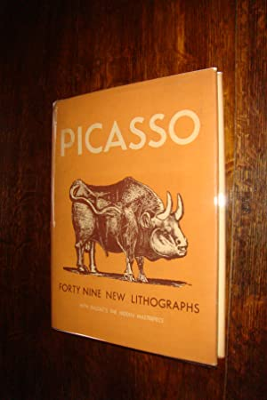 Picasso - Forty Nine new Lithographs with Balzac 's The Hidden Masterpiece (1st printing)