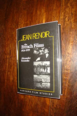 Jean Renoir - The French Films 1924-1939 (1st printing)