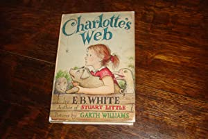 CHARLOTTE'S WEB (1st w/ I-B on copyright: White, E.B.