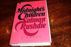 MIDNIGHT'S CHILDREN (signed 1st): Rushdie, Salman