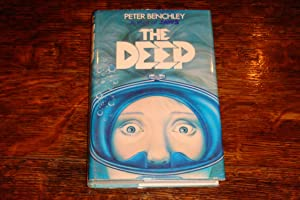 THE DEEP (signed 1st + shark sketch + promo bookmark)