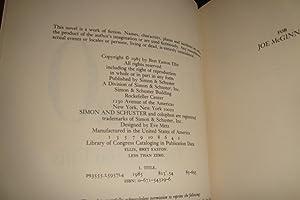 LESS THAN ZERO (1st edition): Ellis, Bret Easton