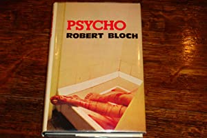 PSYCHO (author's personal signed skeleton bookplate): Bloch, Robert