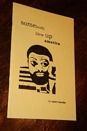 somebody blew up america (true 1st signed - private press)