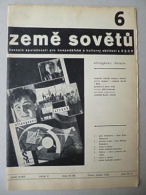 ZEME SOVETU: Karel TEIGE, El Lissitzky, John HEARTFIELD, Hannes MEYER, Laszlo MOHOLY NAGY et al.