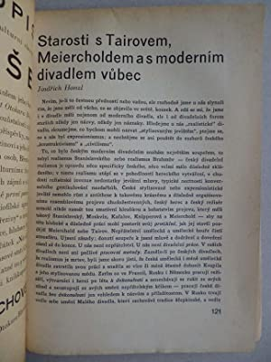 NOVA SCENA Orgán dramatického klubu: Vitezslav NEZVAL, Karel TEIGE, TOYEN, Jindrich ...