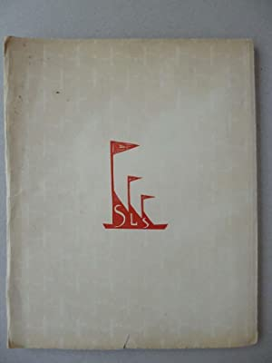 SBORNIK LITERARNI SKUPINY: Josef SIMA, Konstantin BIEBL, et al.