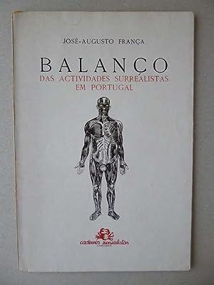 BALANCO DAS ACTIVIDADES SURREALISTAS EM PORTUGAL: José-Augusto FRANÇA