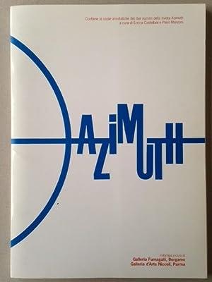 AZIMUTH - ristampa, fac-similé.: Enrico CASTELLANI, Yves