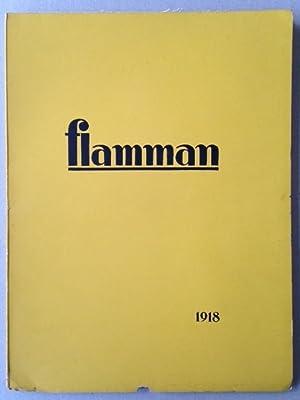 FLAMMAN - Kalender för modern kunst - 1918. avant garde magazine.