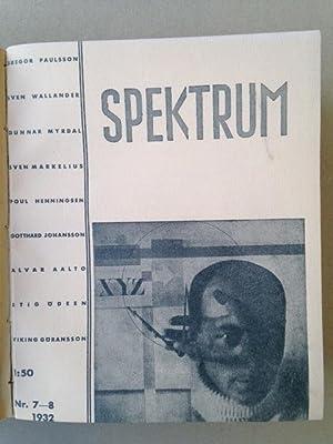 SPEKTRUM - 1931 1932 - Avant garde periodical.