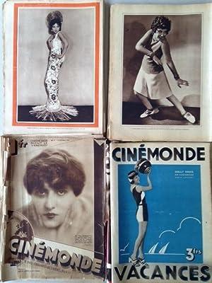 CINEMONDE - Nos. 1 à 52. 1ère année complète.: sur :Antonin ARTAUD, S.M...