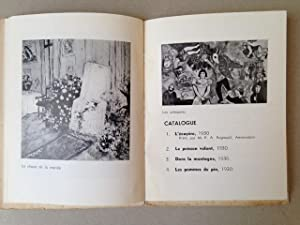 MARC CHAGALL - Catalogue d'exposition au Palais des Beaux-Arts de Bruxelles en 1938.