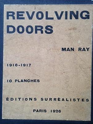 REVOLVING DOORS - Chemise no. 92 signée: MAN RAY.