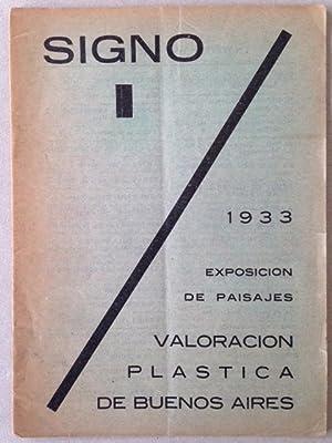 SIGNO - 1 - Avant garde periodical.: Leonardo ESTARICO, Roger