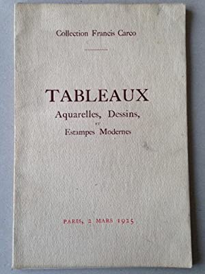 COLLECTION FRANCIS CARCO - TABLEAUX, AQUARELLES, DESSINS: Amadeo MODIGLIANI, Otakar