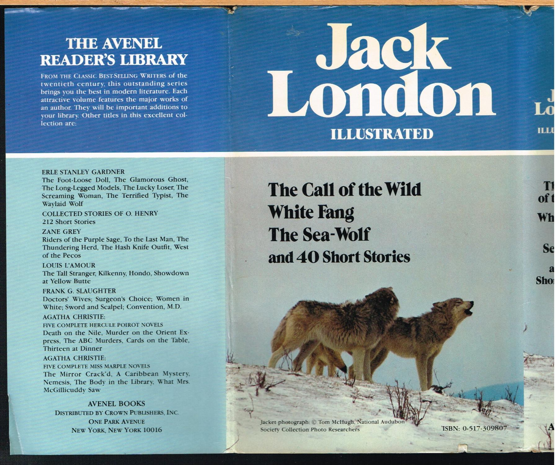 b99d73d50ae3 JACK LONDON ILLUSTRATED, CALL OF THE WILD, ...