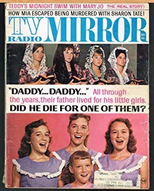 TV RADIO MIRROR, MIDWEST EDITION, Volume 69, Number 12, November 1969