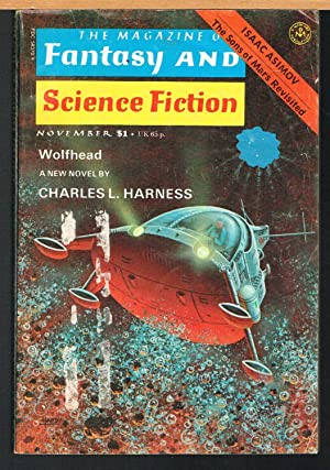 MAGAZINE OF FANTASY AND SCIENCE FICTION, Nov.: FERMAN, EDWARD L.,