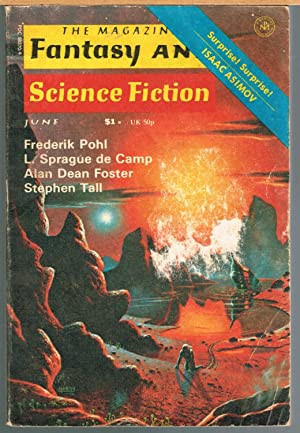 MAGAZINE OF FANTASY AND SCIENCE FICTION, June: FERMAN, EDWARD L.,