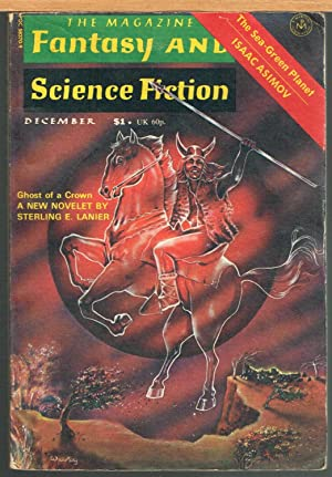 MAGAZINE OF FANTASY AND SCIENCE FICTION, December: FERMAN, EDWARD L.,
