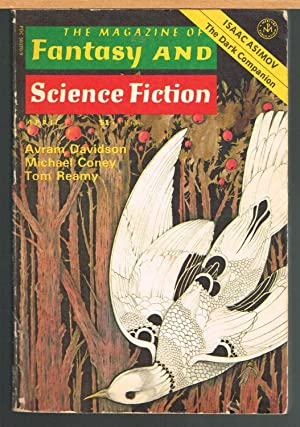 MAGAZINE OF FANTASY AND SCIENCE FICTION; April: FERMAN, EDWARD L.,Editor.