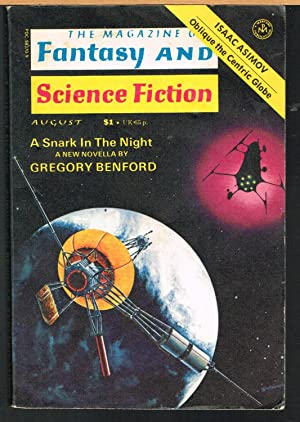 MAGAZINE OF FANTASY AND SCIENCE FICTION August: FERMAN, EDWARD L.,
