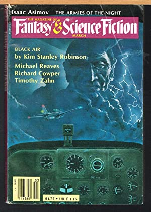 MAGAZINE OF FANTASY AND SCIENCE FICTION, March: FREMAN, EDWARD L.,