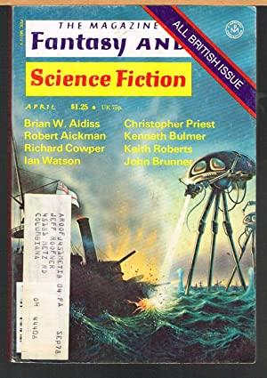 MAGAZINE OF FANTASY AND SCIENCE FICTION April: FERMAN, EDWARD L.,