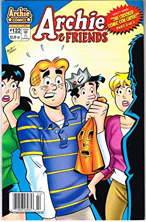 ARCHIE & FRIENDS #122 CROOKED OMIC CON CAPER, PART 2 OF 3.