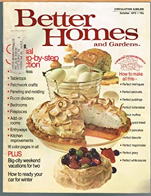 BETTER HOMES AND GARDENS, October 1975, Vol. 53, No. 10