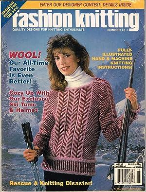 Fashion Knitting, No. 45, Vol. 8, Issue: Klein, Sally V.,