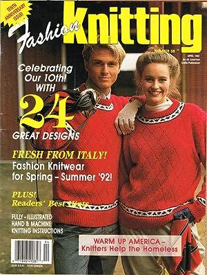Fashion Knitting, No. 58, April 1992: Klein, Sally V.,