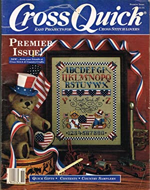 Cross Quick, Easy Projects for Cross Stitch: Strauss, Karen, Editor.