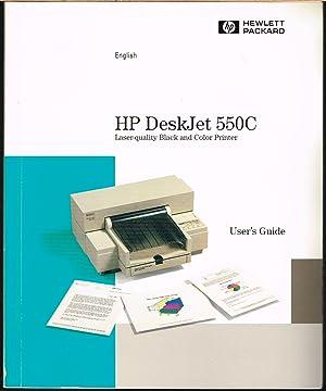 HP DeskJet 550C, User's Guide, English Version.: Hewlett Packard.