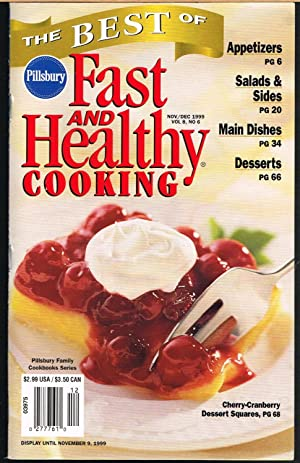 PILLSBURY FAST AND HEALTHY COOKING, November/December 1999,