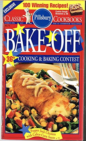 PILLSBRY CLASSIC COOKBOOKS No. 157, March 1994; BAKE-OFF 36TH COOKING & BAKING CONTEST