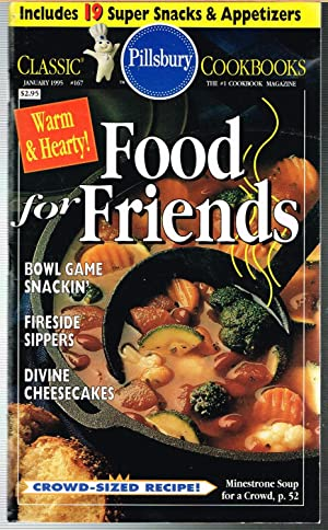 PILLSBURY CLASSIC COOKBOOKS No. 167, January 1995; FOOD FOR FRIENDS