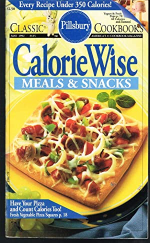 Pillsbury Classic Cookbook #135 May 1992; Calorie Wise Meals & Snacks