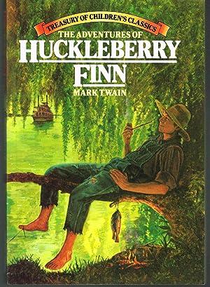 ADVENTURES OF HUCKLEBERRY FINN; Treasury of Children's: TWAIN, MARK. Pseudonym