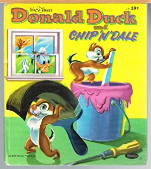 WALT DISNEY'S DONALD DUCK AND CHIP 'N' DALE; a Whitman Tell-A-Tale Book.